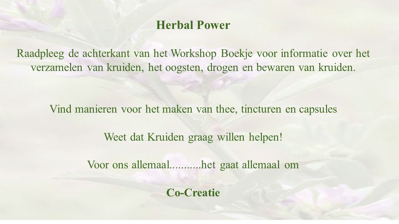 Herbal Power