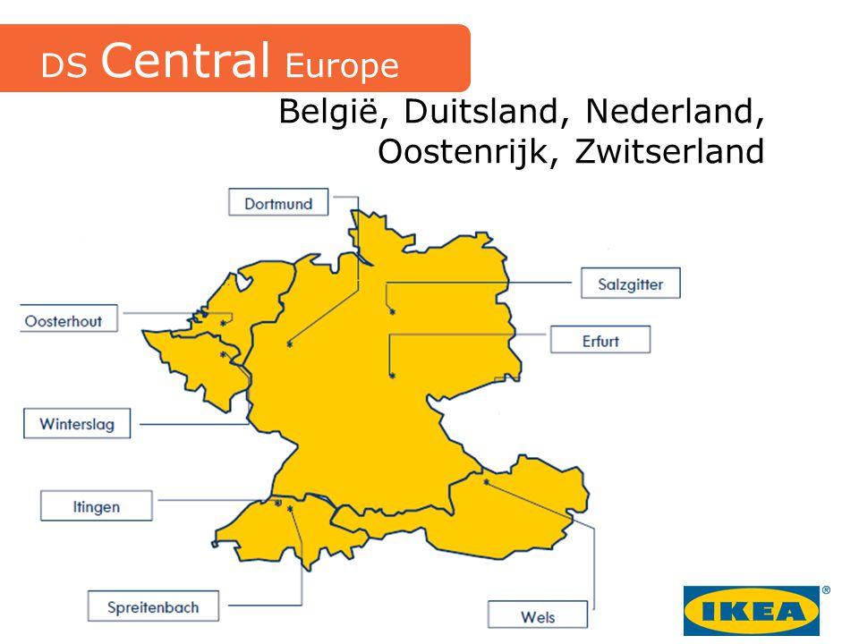 België, Duitsland, Nederland, Oostenrijk, Zwitserland