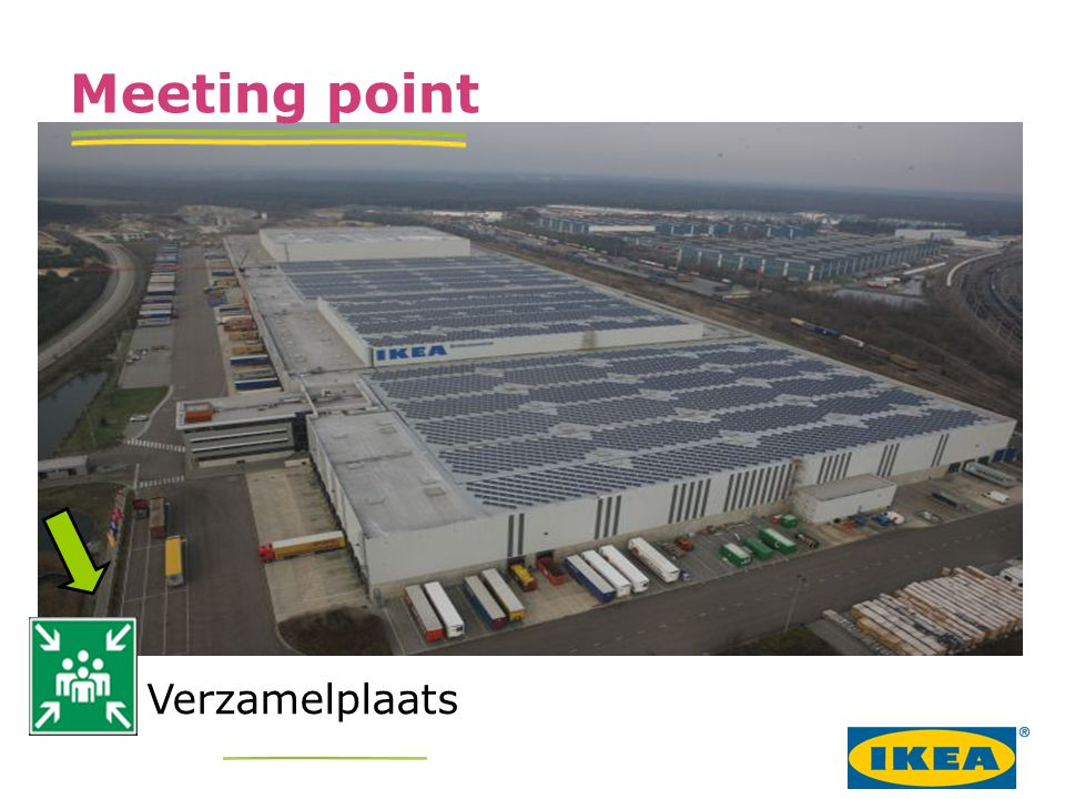 Verzamelplaats Meeting point