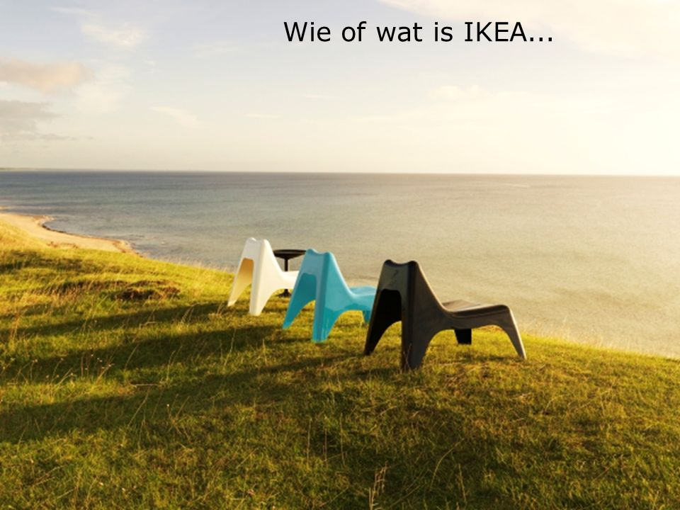 Wie of wat is IKEA...