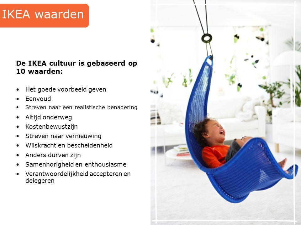 IKEA waarden De IKEA cultuur is gebaseerd op 10 waarden: