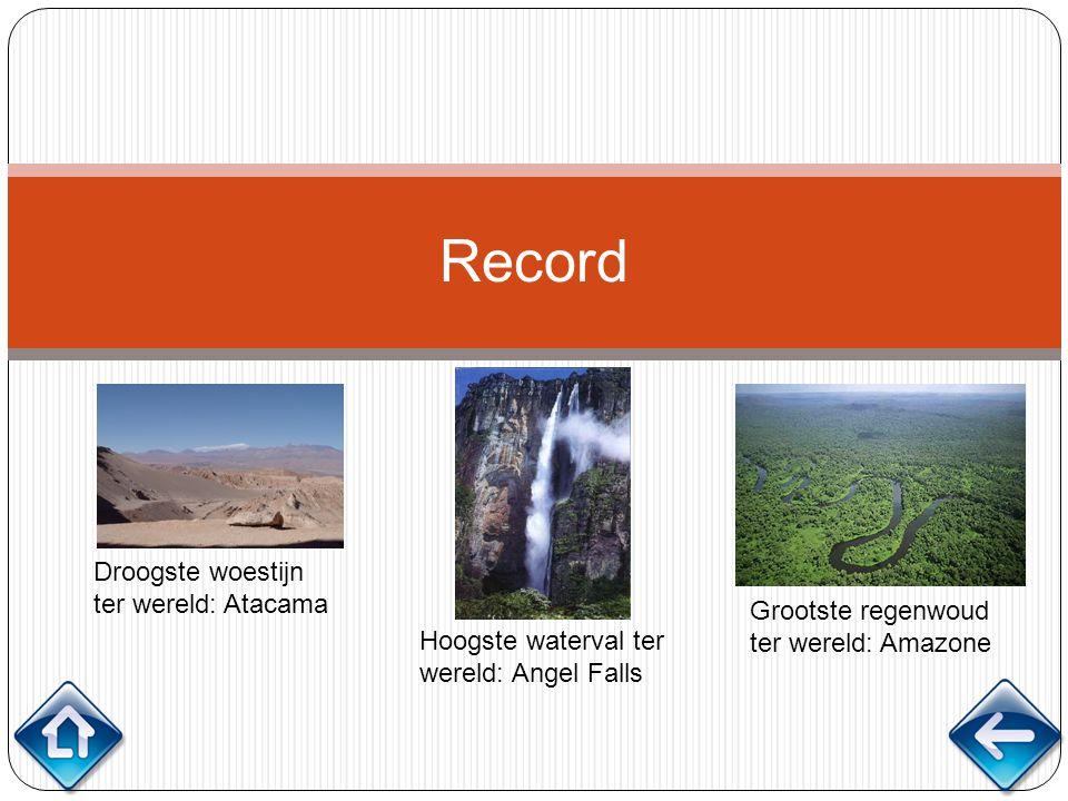 Record Droogste woestijn ter wereld: Atacama