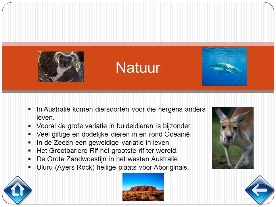 Natuur In Australië komen diersoorten voor die nergens anders leven.