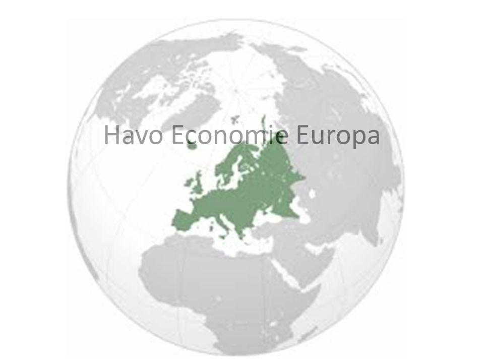 Havo Economie Europa