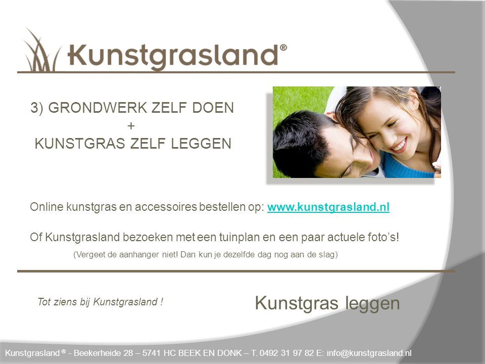 Kunstgras leggen + KUNSTGRAS ZELF LEGGEN 3) GRONDWERK ZELF DOEN