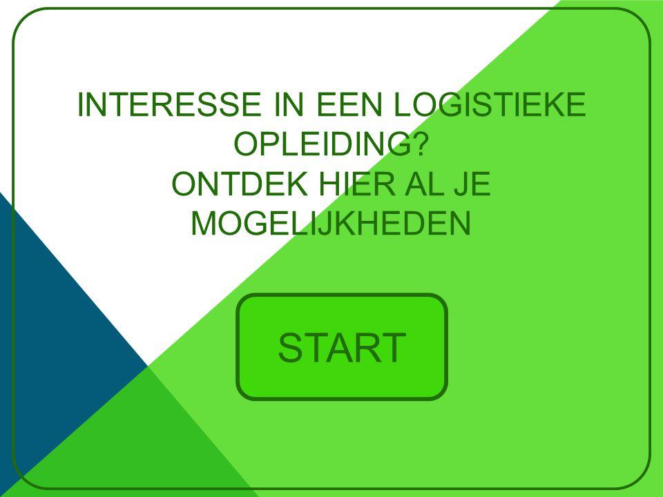 Interesse in een Logistieke opleiding Ontdek hier al je mogelijkheden