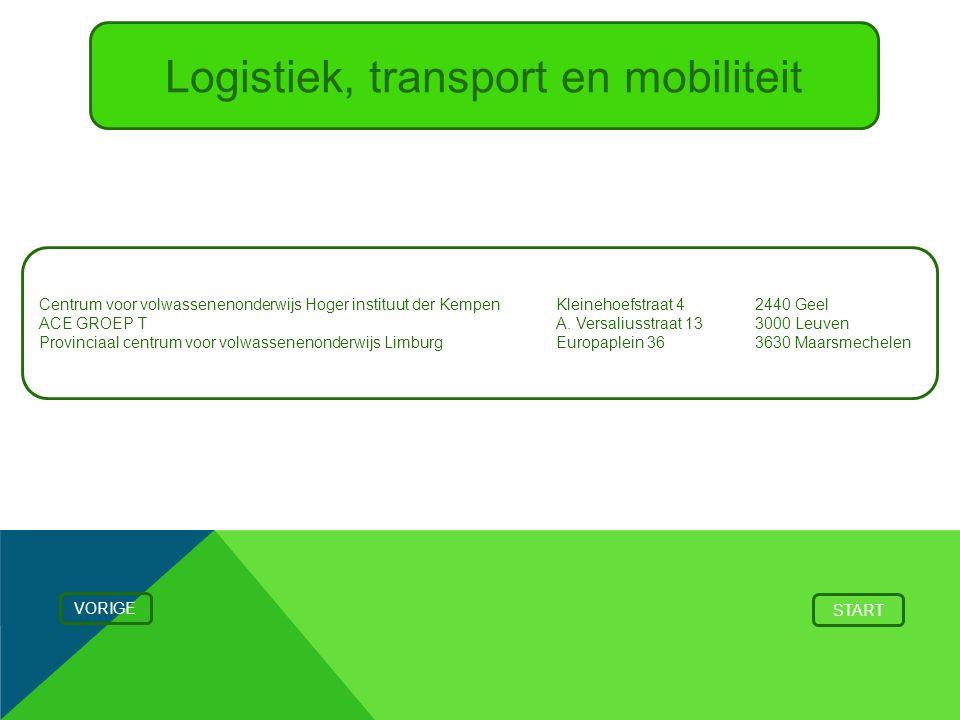 Logistiek, transport en mobiliteit
