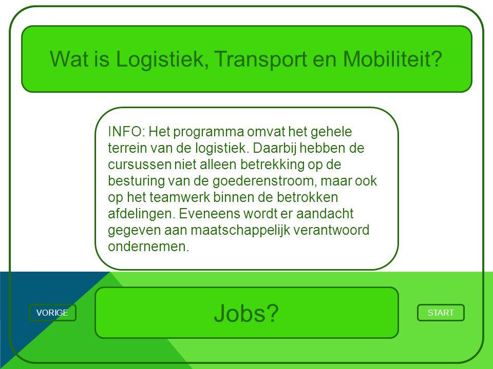 Wat is Logistiek, Transport en Mobiliteit