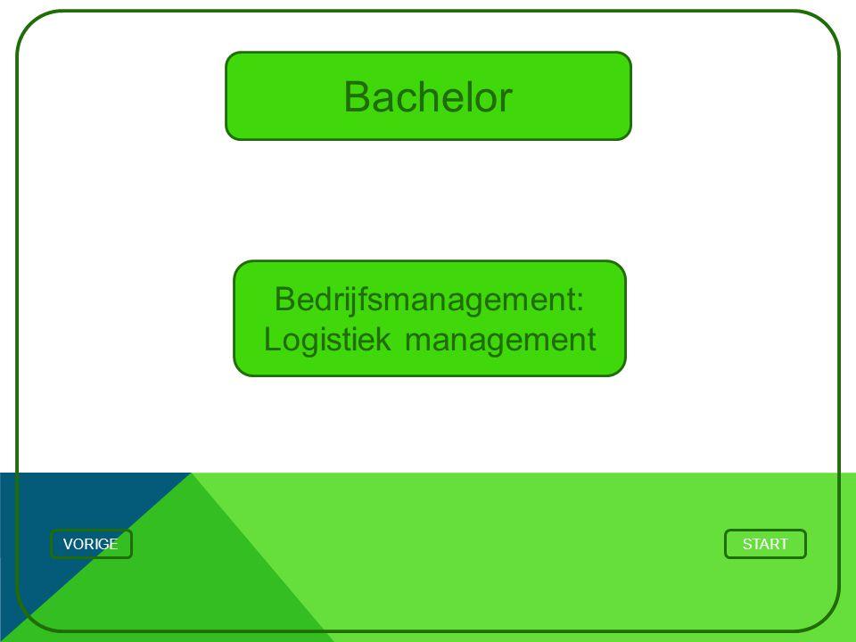 Bedrijfsmanagement: Logistiek management