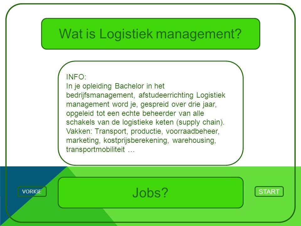 Wat is Logistiek management