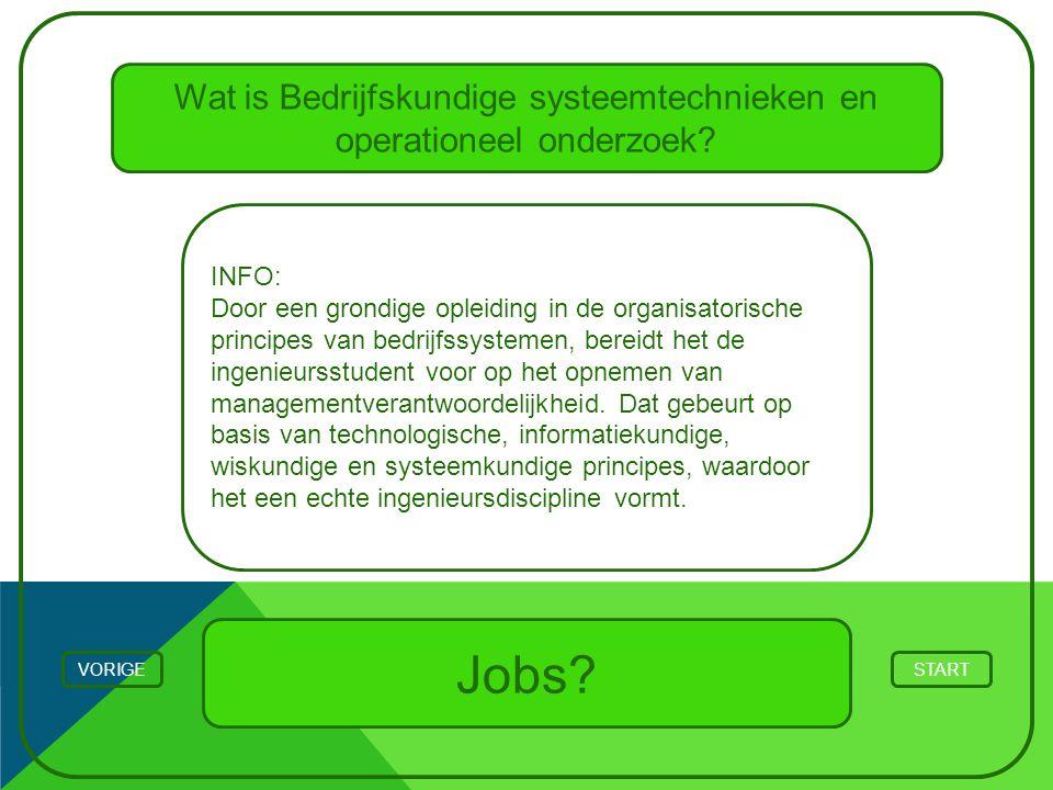 Wat is Bedrijfskundige systeemtechnieken en operationeel onderzoek