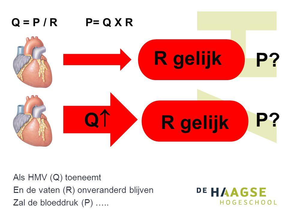 R gelijk P Q P R gelijk Q = P / R P= Q X R