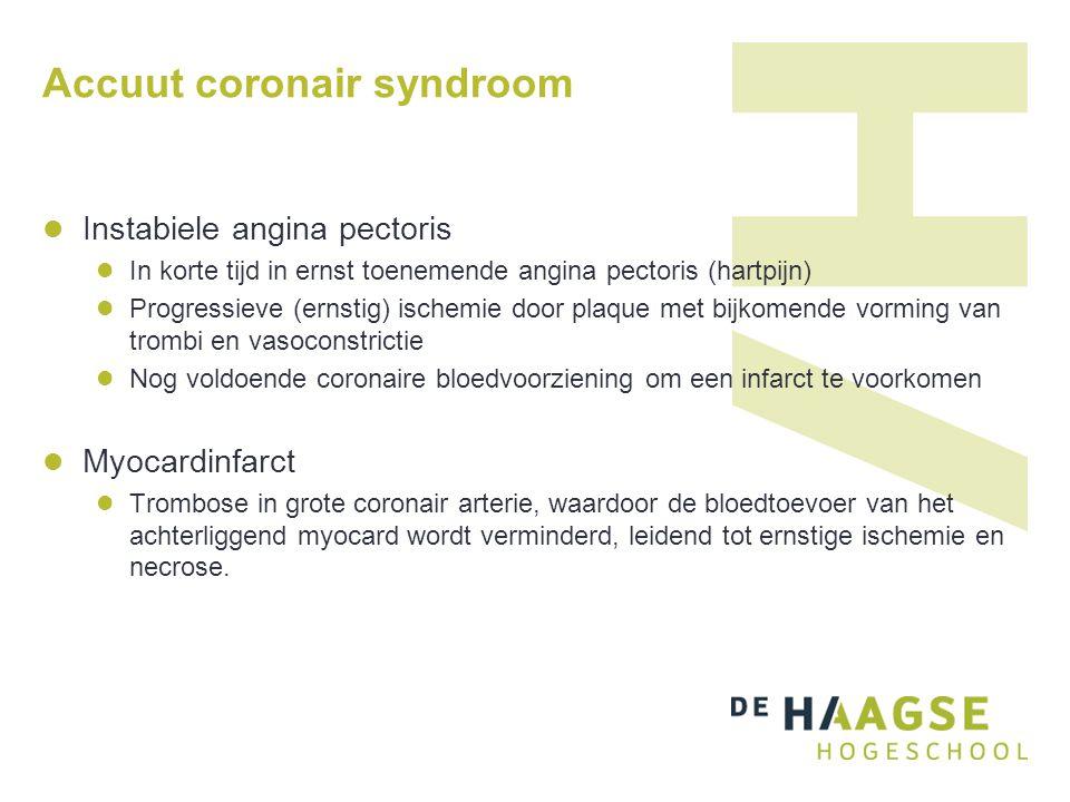 Accuut coronair syndroom