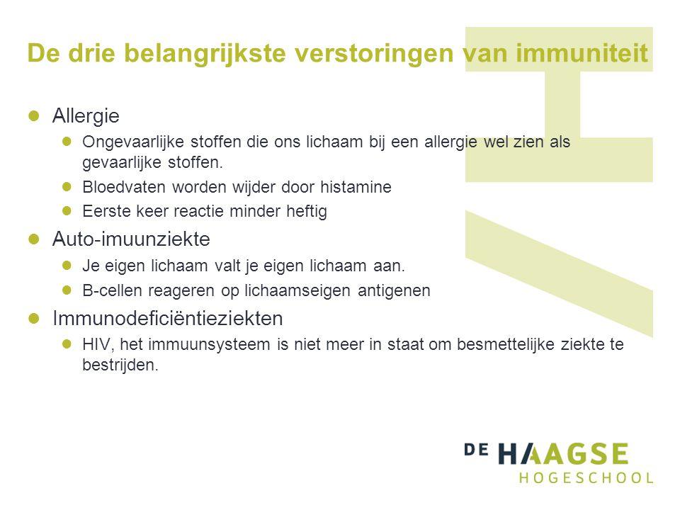 De drie belangrijkste verstoringen van immuniteit