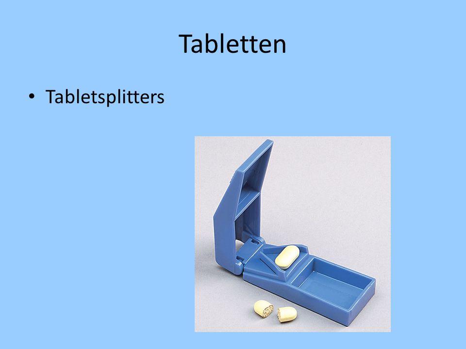 Tabletten Tabletsplitters