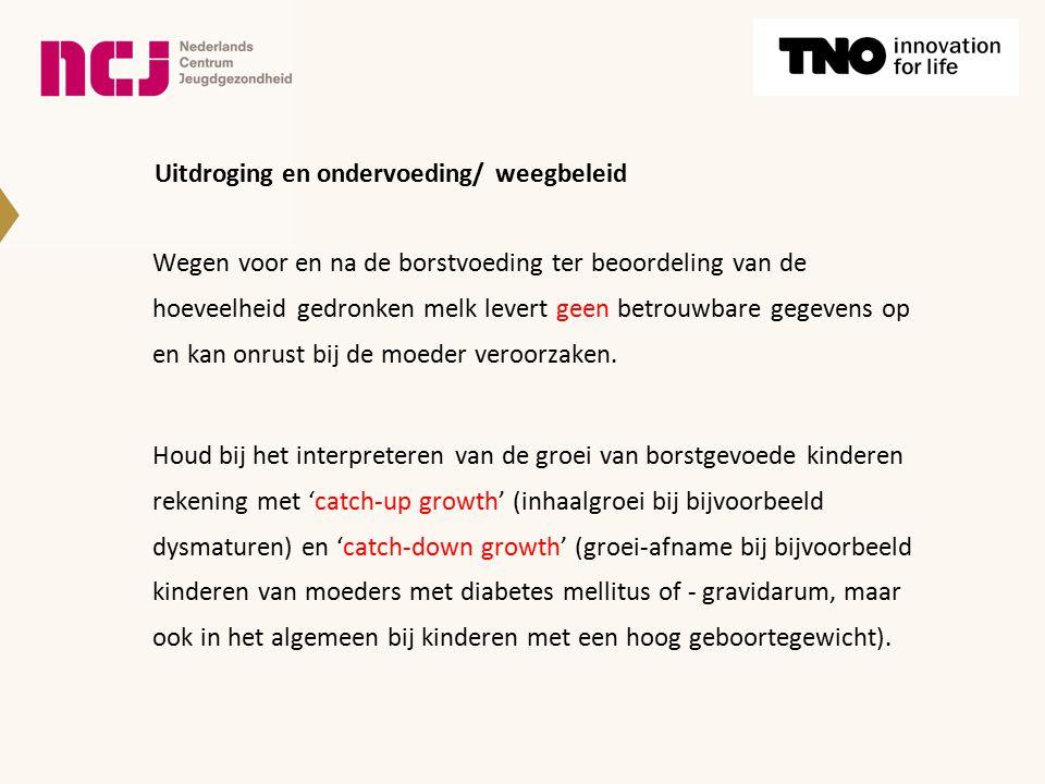 Uitdroging en ondervoeding/ weegbeleid
