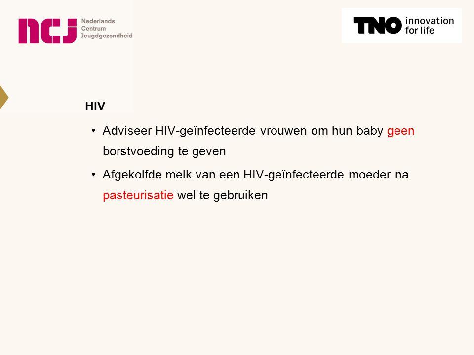 HIV Adviseer HIV-geïnfecteerde vrouwen om hun baby geen borstvoeding te geven.