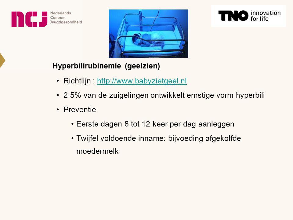 Hyperbilirubinemie (geelzien)