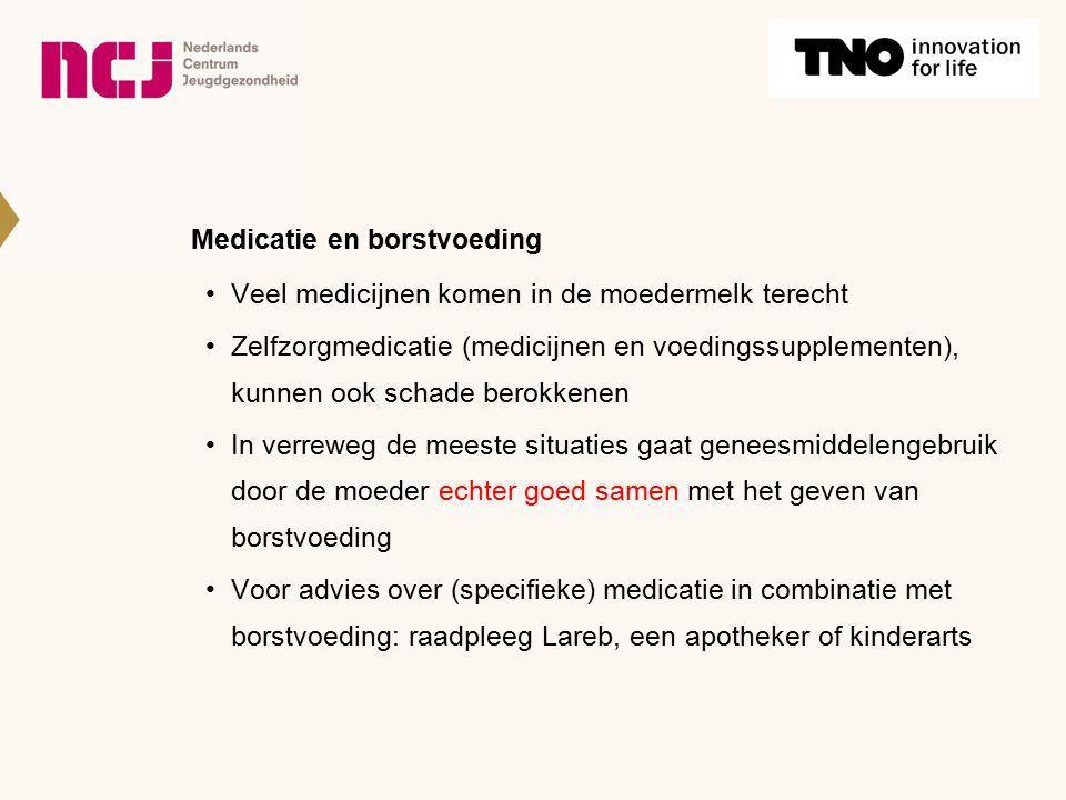 Medicatie en borstvoeding