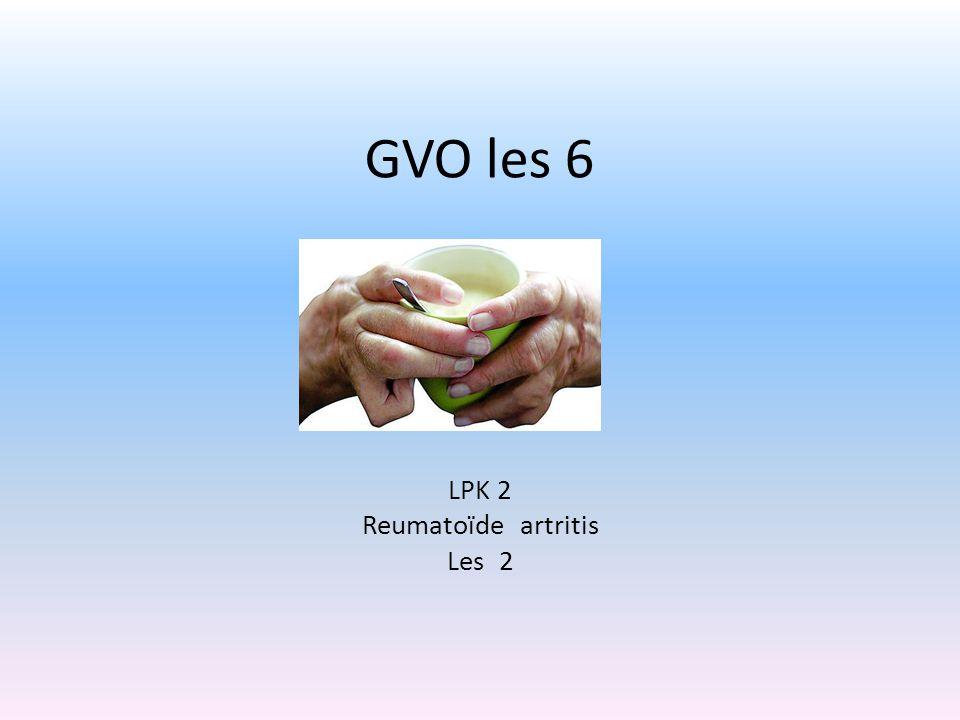 LPK 2 Reumatoïde artritis Les 2