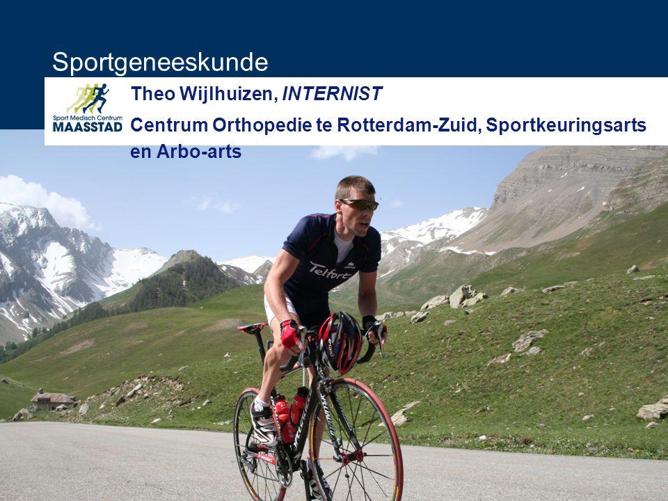 Sportgeneeskunde Theo Wijlhuizen, INTERNIST