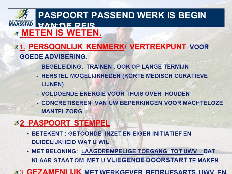 PASPOORT PASSEND WERK IS BEGIN VAN DE REIS