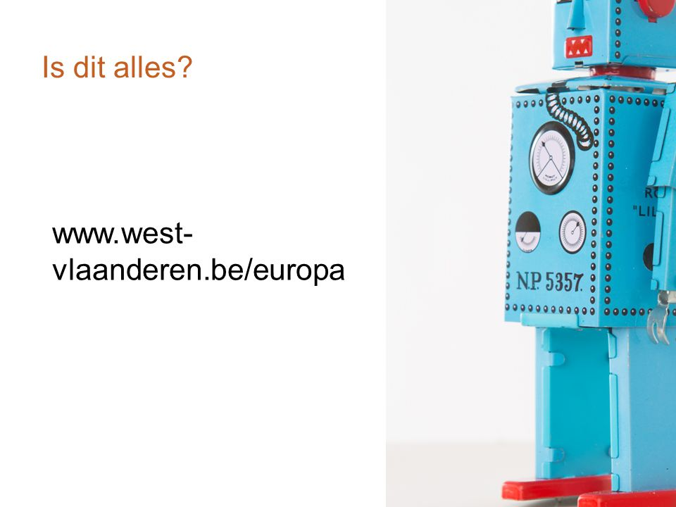 Is dit alles www.west-vlaanderen.be/europa