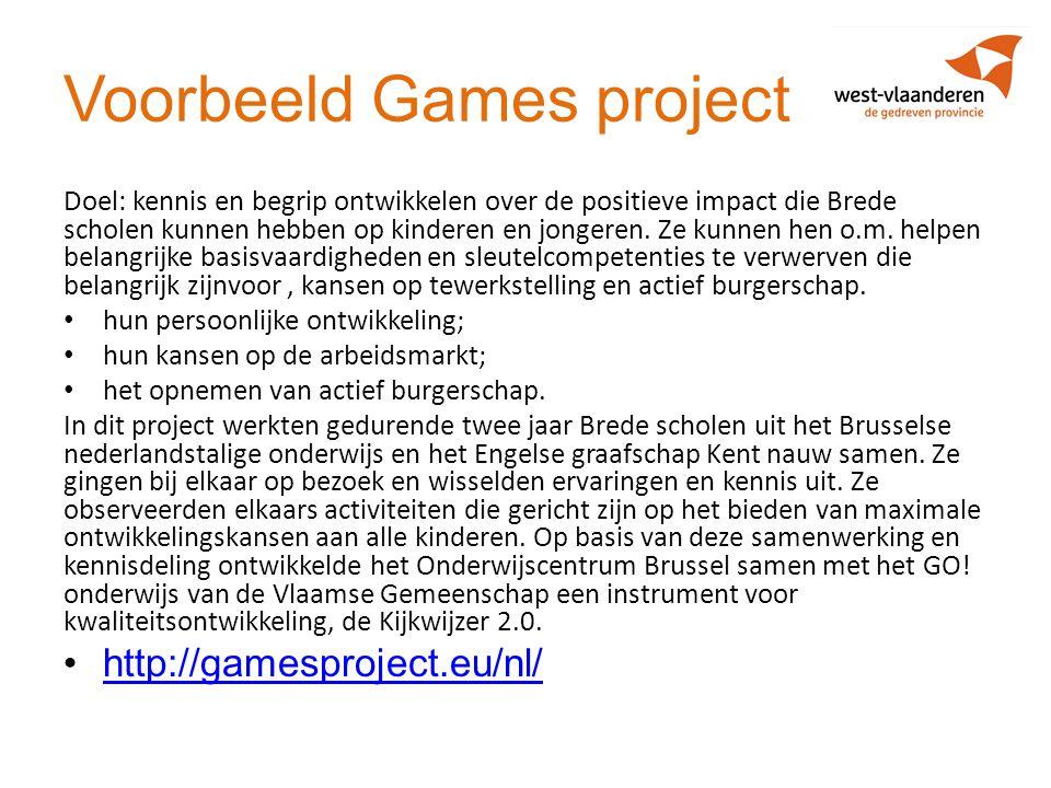 Voorbeeld Games project