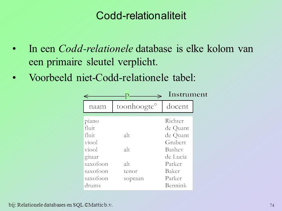 Codd-relationaliteit