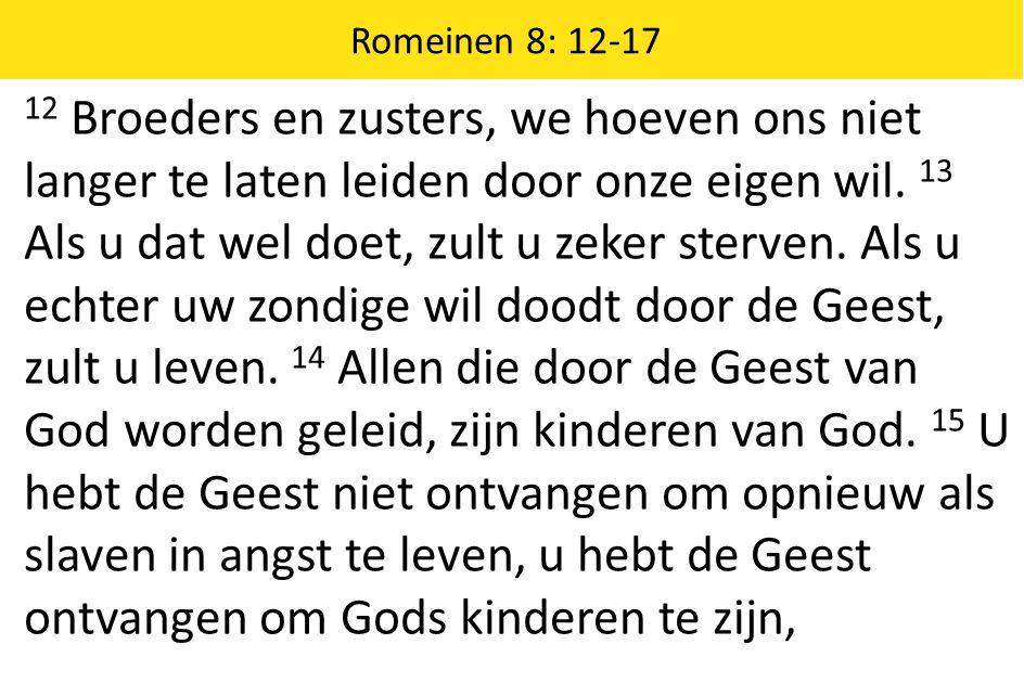 Romeinen 8: 12-17