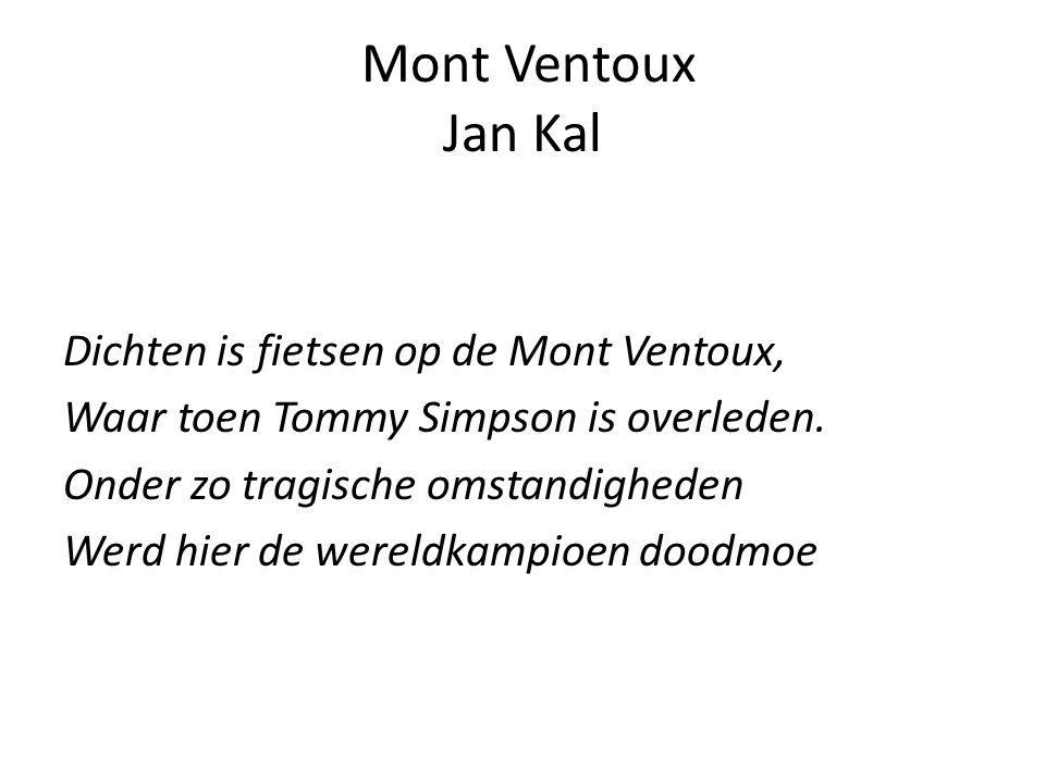 Mont Ventoux Jan Kal