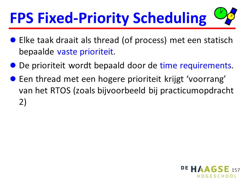 FPS Fixed-Priority Scheduling