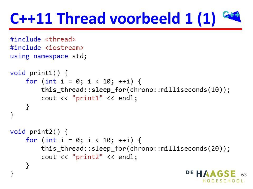 C++11 Thread voorbeeld 1 (2)