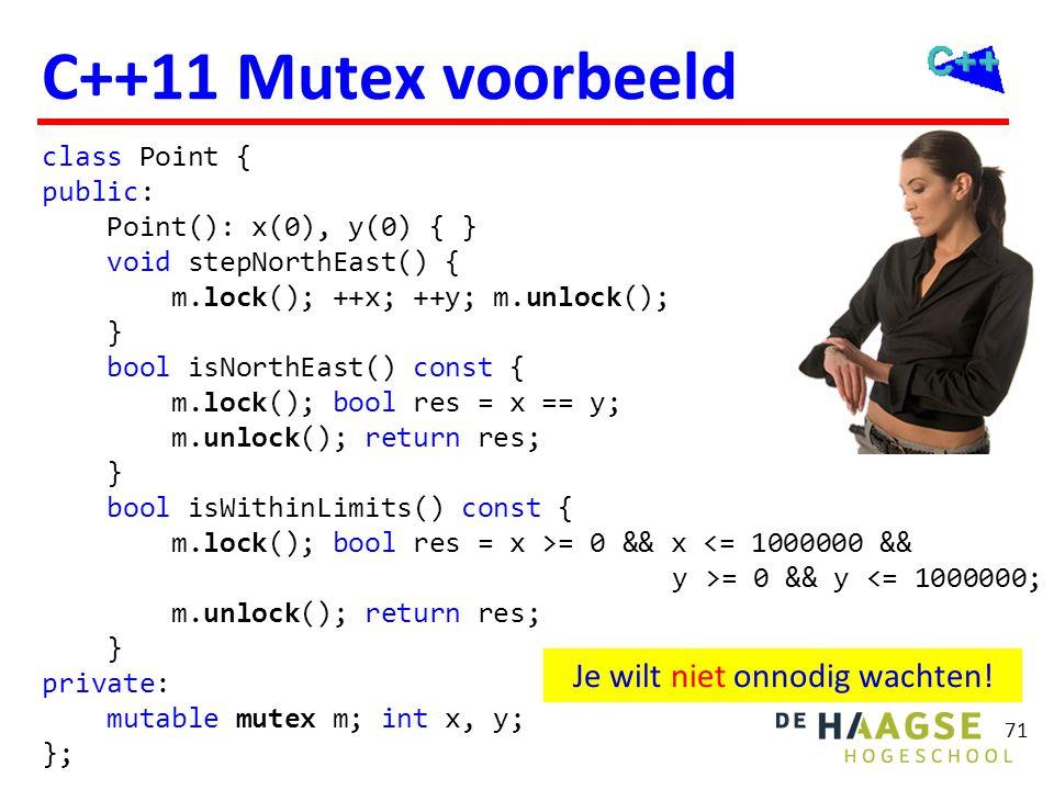 isNorthEast() en isWithinLimits() kunnen nu parallel draaien!