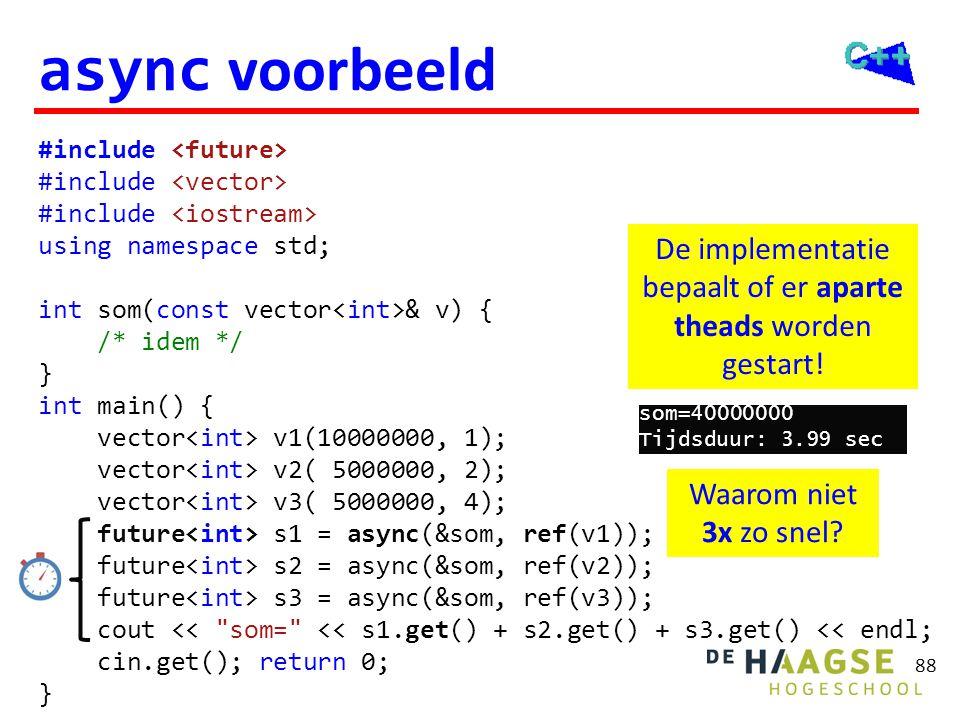 async voorbeeld (met auto)