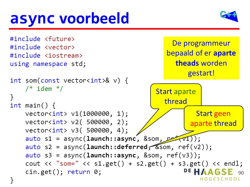 async voorbeeld (deferred)