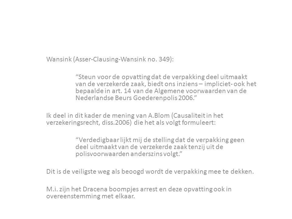 Wansink (Asser-Clausing-Wansink no. 349):