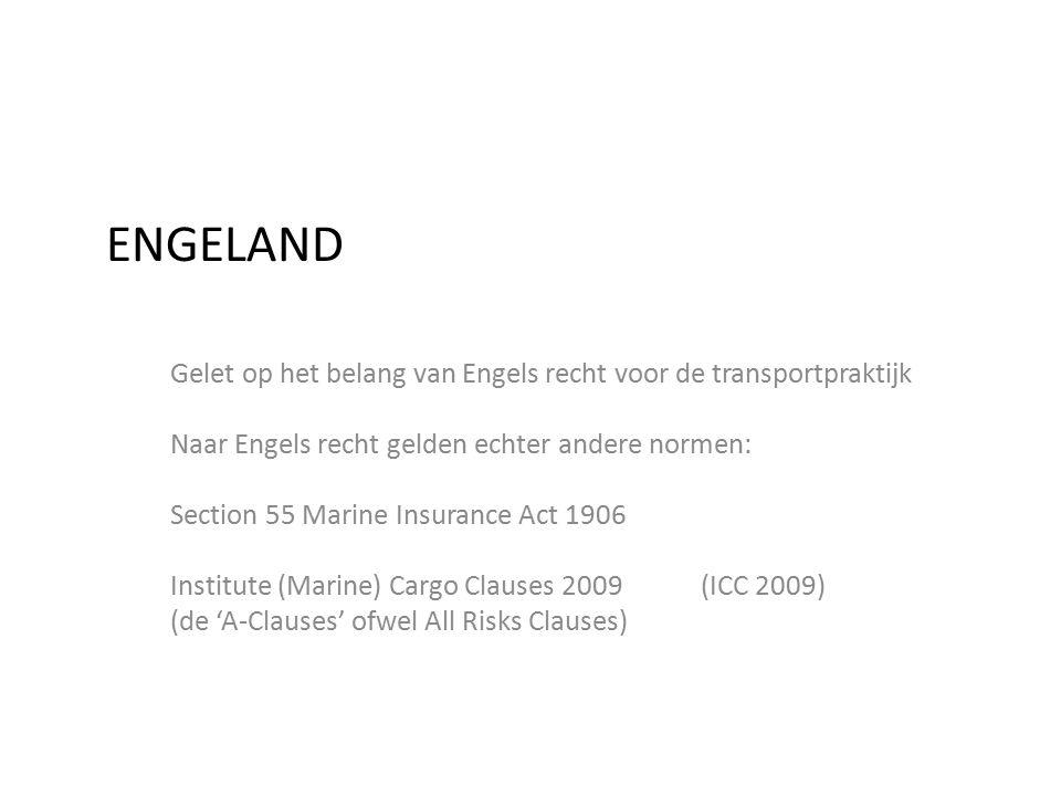 EMESQUE ADVOCATUUR ENGELAND. Gelet op het belang van Engels recht voor de transportpraktijk. Naar Engels recht gelden echter andere normen: