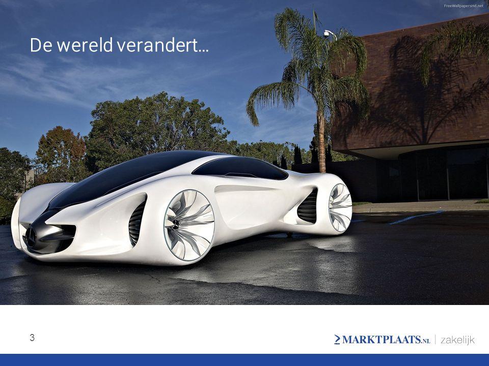De wereld verandert… We zien dat de autowereld veranderd op allerlei terreinen.