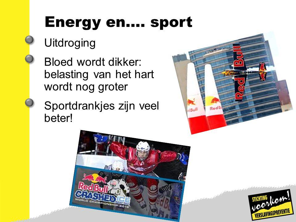 Energy en…. sport Uitdroging