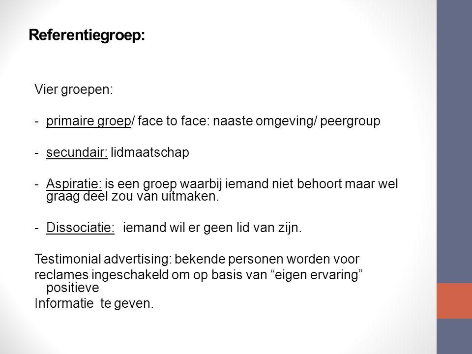 Referentiegroep: