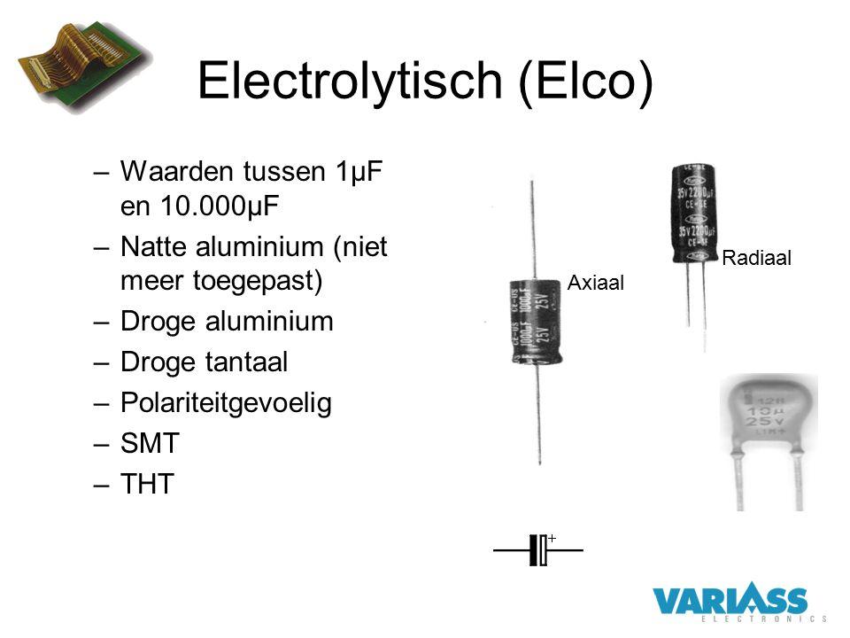 Electrolytisch (Elco)