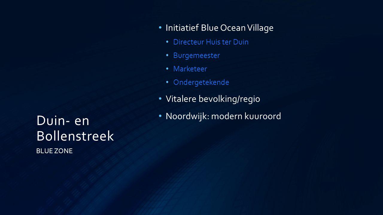 Duin- en Bollenstreek Initiatief Blue Ocean Village