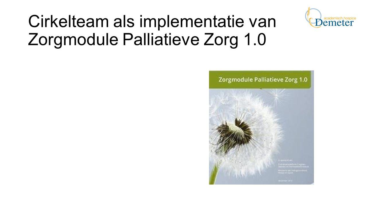 Cirkelteam als implementatie van Zorgmodule Palliatieve Zorg 1.0