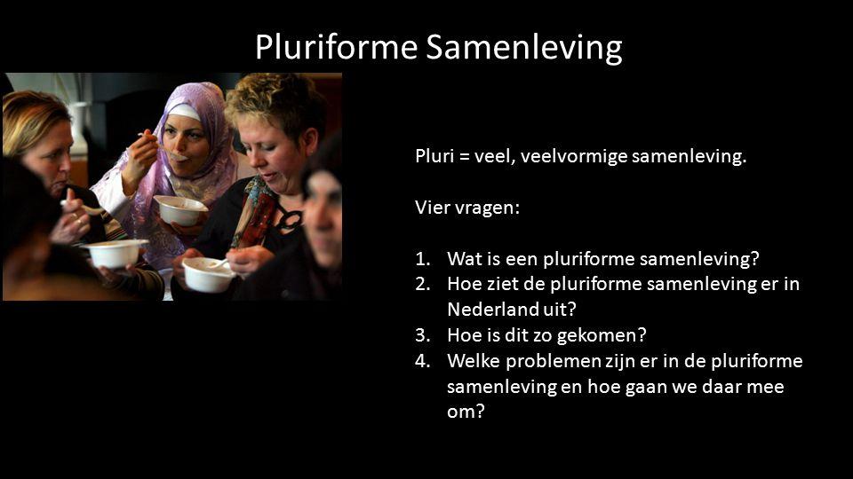 Pluriforme Samenleving
