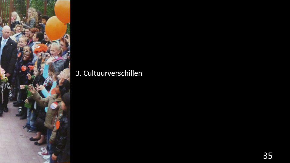 3. Cultuurverschillen