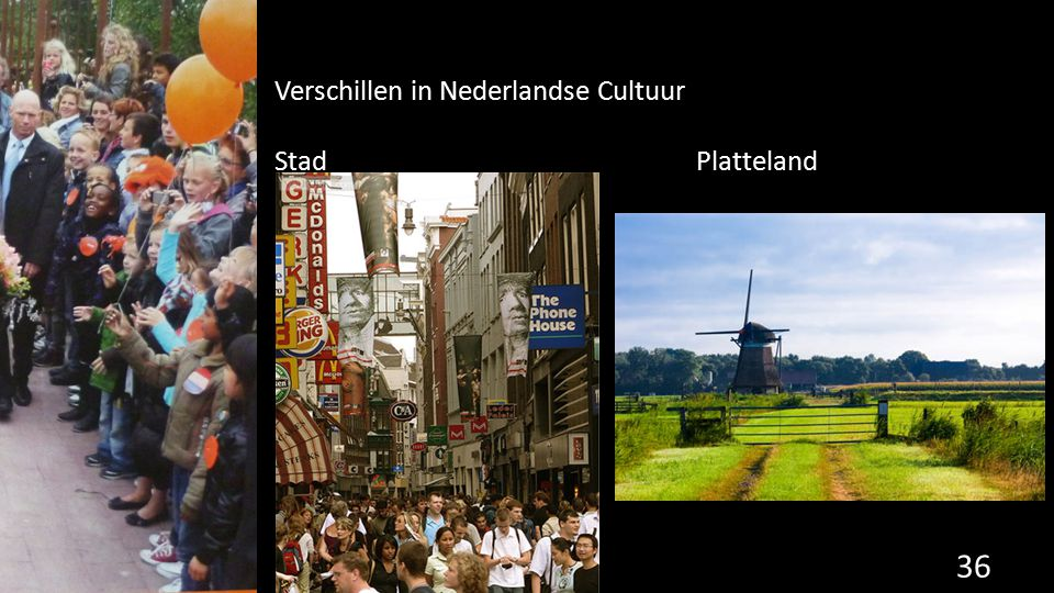 Verschillen in Nederlandse Cultuur
