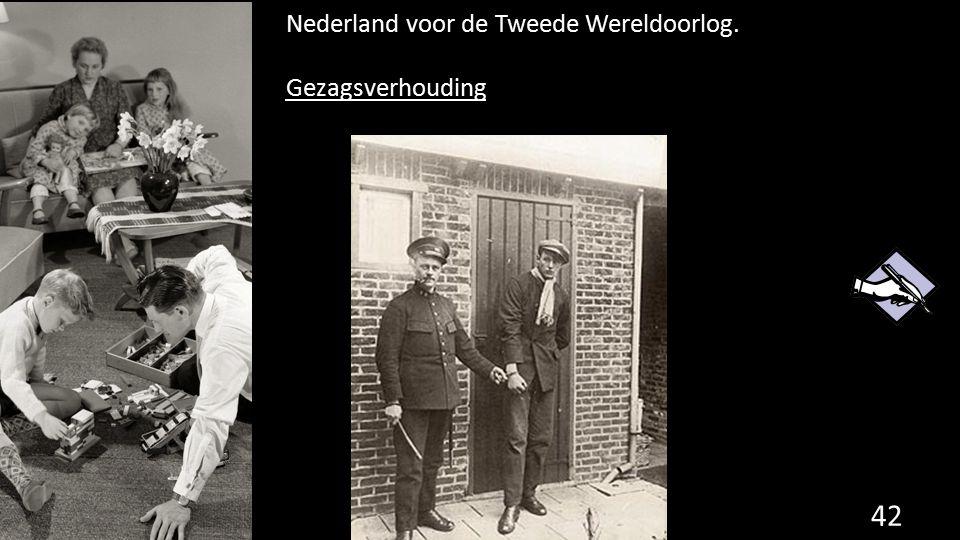 Nederland voor de Tweede Wereldoorlog.