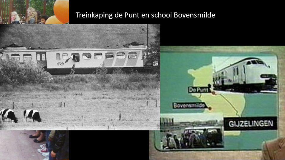 Treinkaping de Punt en school Bovensmilde