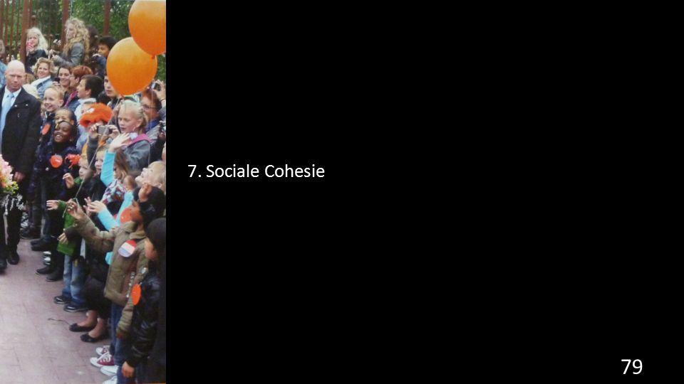 7. Sociale Cohesie